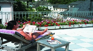 Top 100 Hotel Häcksers Fürstenhof ***** Aussicht Balkon