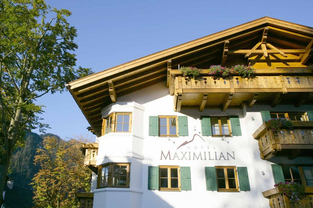 Hotel maximilian in oberammergau ihr top designhotel in for Bayern design hotel